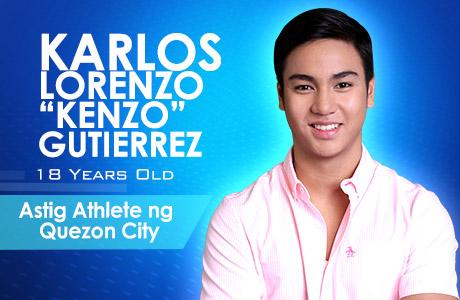 """""""Astig Athlete ng Quezon City"""" - Karlos Lorenzo """"Kenzo"""" Gutierrez"""