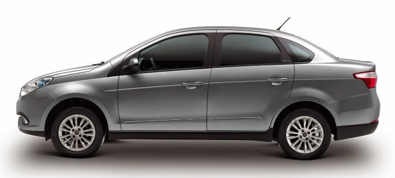 Novo Fiat Siena 2015 fotos, preços