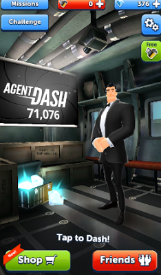 Agent Dash v4.4.1.534 Mod Apk Terbaru 2016 Unlimited lives