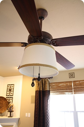 Be differentt normal diy ceiling fan lamp shade diy ceiling fan lamp shade aloadofball Images