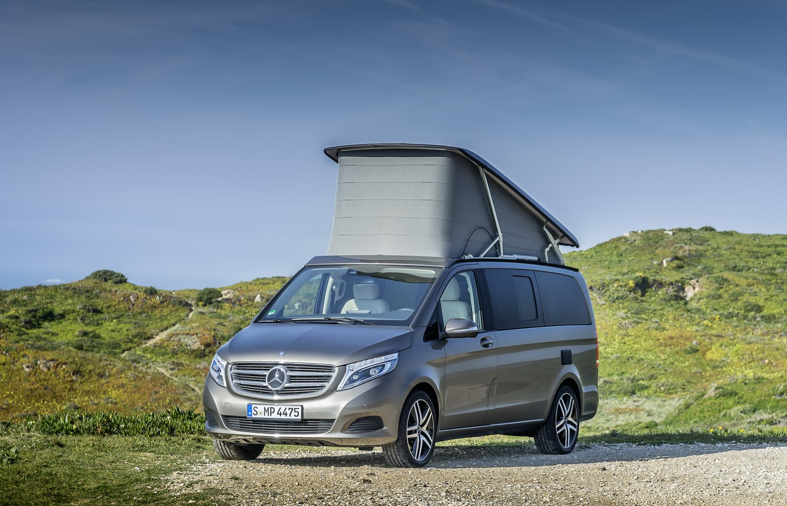 2015 Mercedes Benz V Class Marco Polo Camper All New Cars Zealand