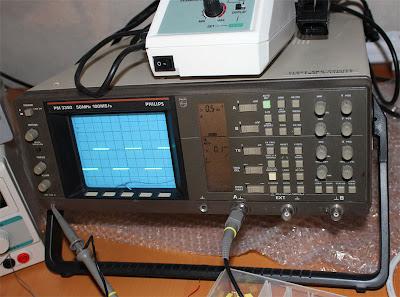 Oscilloskop Philips PM 3350 som klarar 50 Mhz Säljes