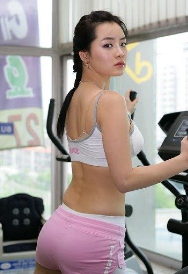 Korea Famous Race Queen Im Ji Hye Photos