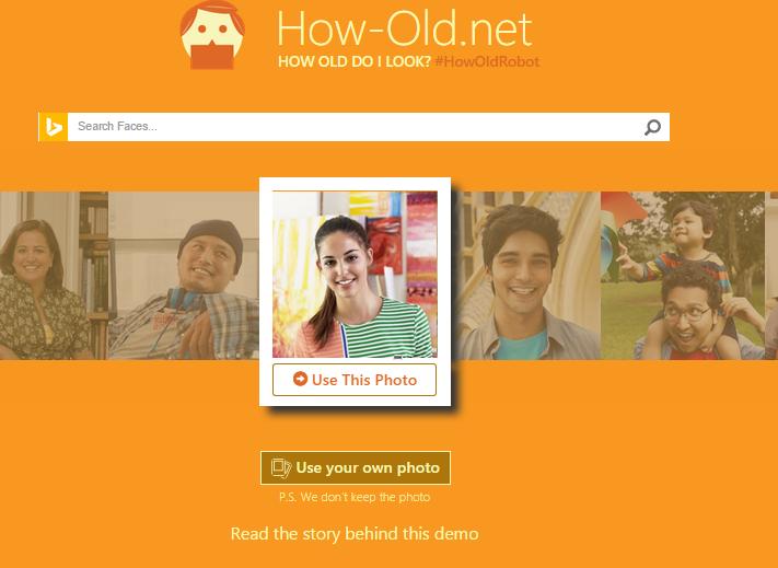 Hướng dẫn sử dụng web đoán tuổi How-old.Net của Microsoft