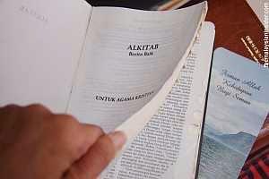Bakar Bible Tidak Salah Ibrahim Ali