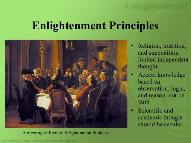 the developments in society during the enlightenment period History of europe - the enlightenment: the enlightenment was both a movement and a state of mind the term represents a phase in the intellectual history of europe.