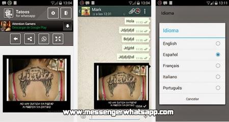 ¿Te gustan los tattoos? entonces compartelos con Whatsapp Tattoos