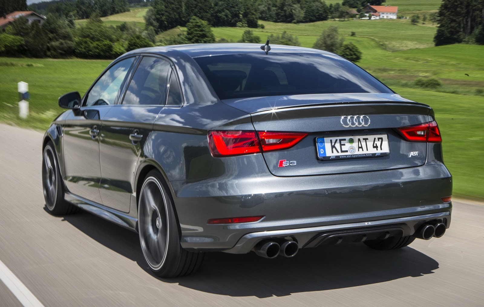 How Much Is A Catalytic Converter >> ABT Gives Audi S3 Sedan More Power Than RS3   Carscoops
