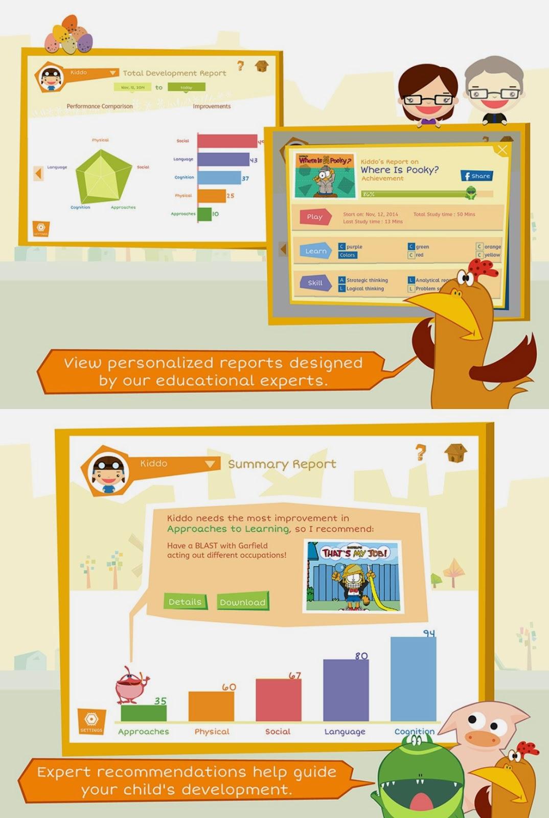 free kids educational app