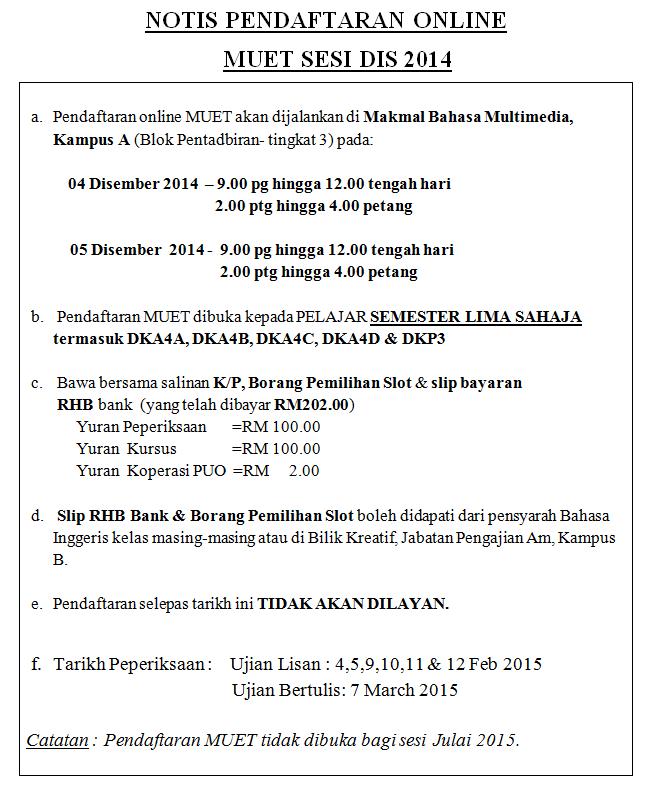 Info Hub Jtmk Puo December 2014