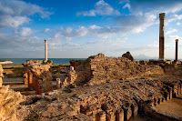 termas de Antonino en Cartago.