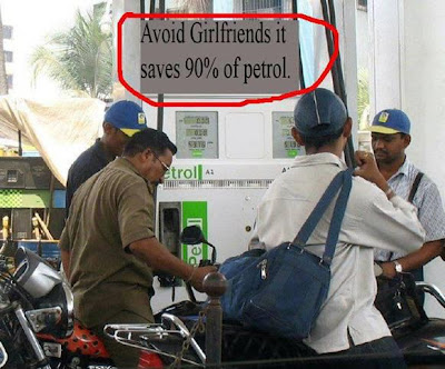 Avoid Girlfriends and Save 90% Of Petrol - Funny Images @ FunkyPhotos.com