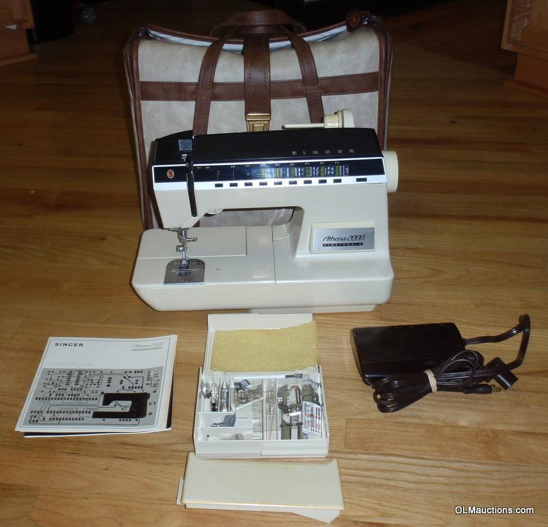 singer 2000 sewing machine