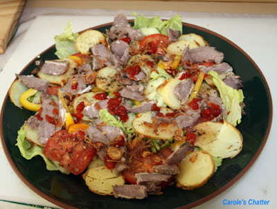 Carole's Chatter: Salad with leftover lamb