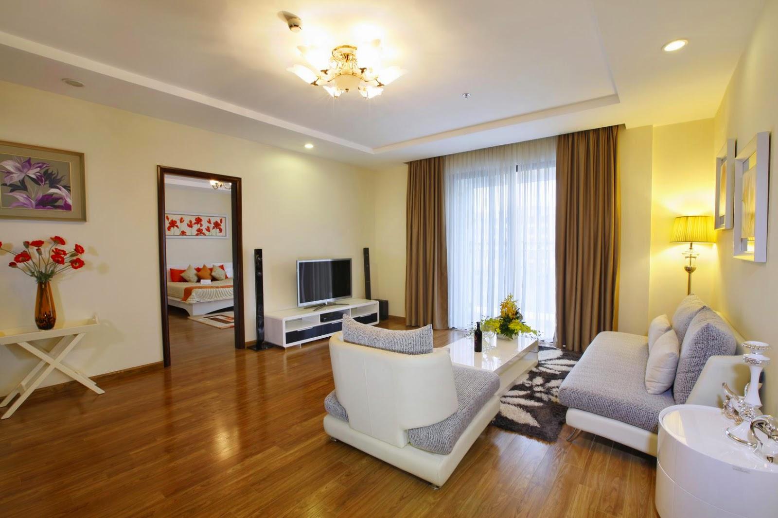 Thiết kế phòng khách căn hộ mẫu tòa T11 Times City