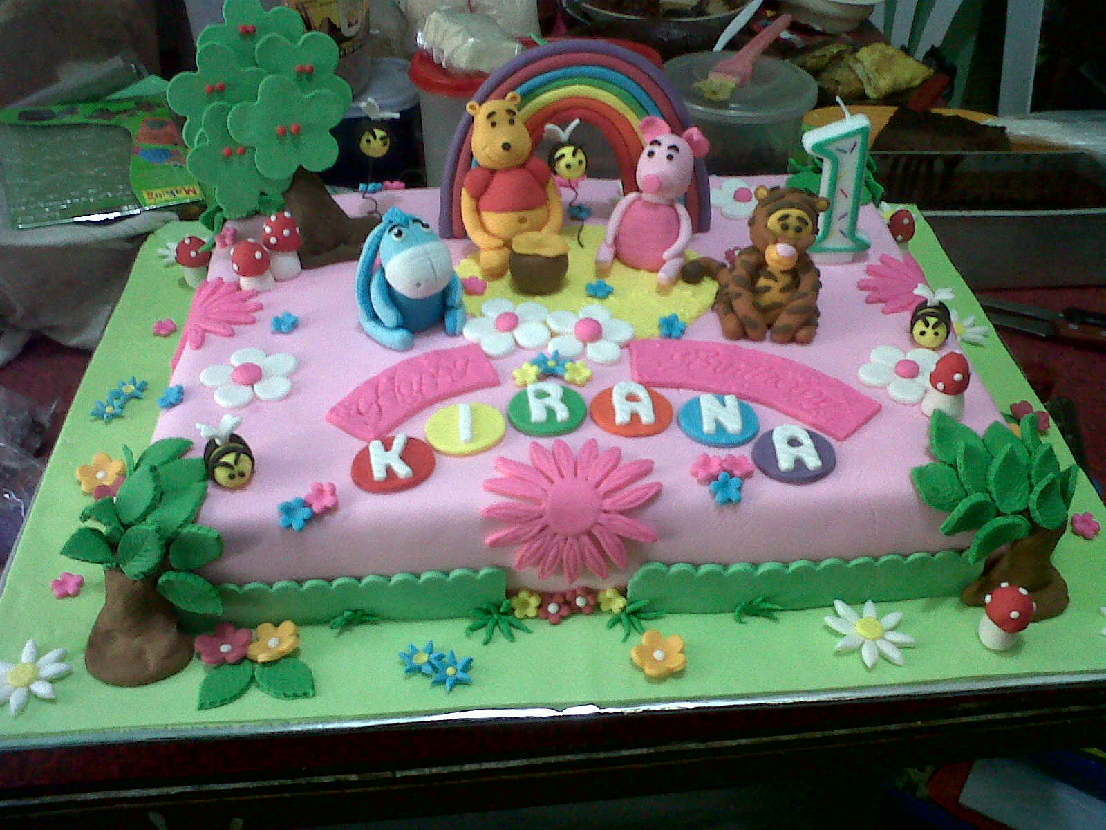 Birthday Cake Images With Name Kiran : Nens Cake: Kiran Birthday
