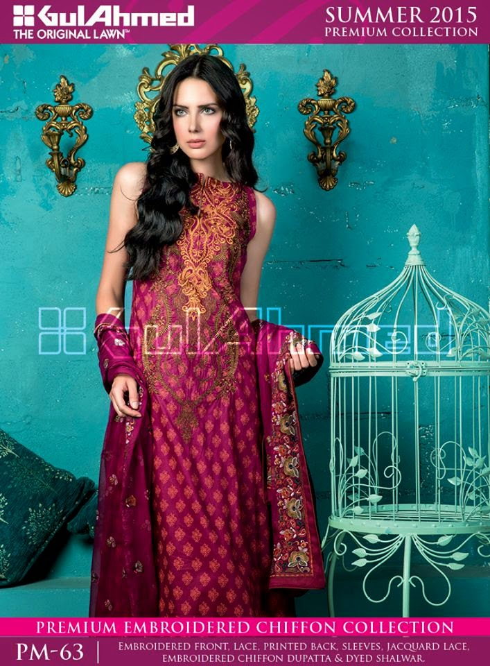 Gul ahmed suits prices 2015
