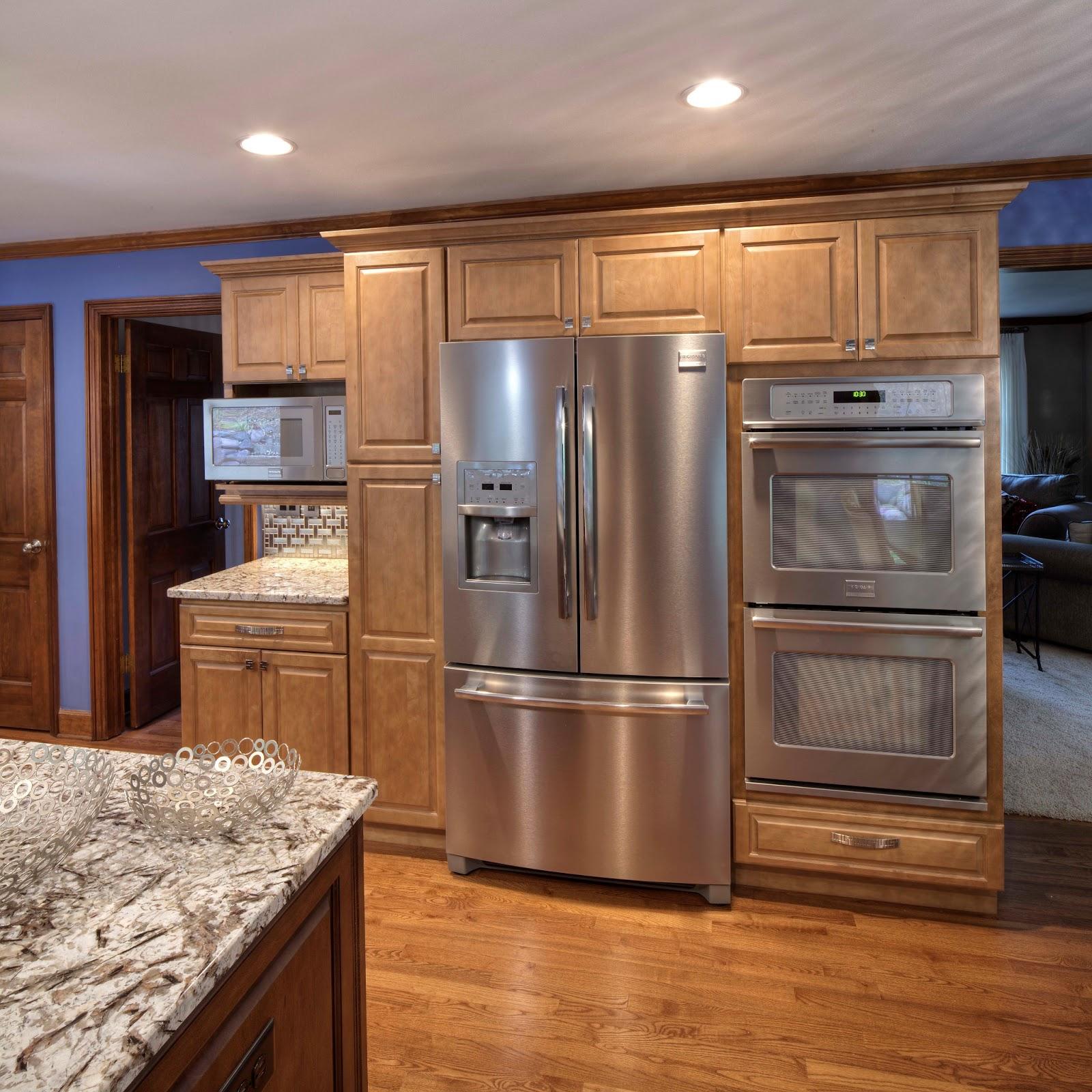 Kitchen Cabinets Around Fridge: Kitchen Appliance Round-Up: Options Abound