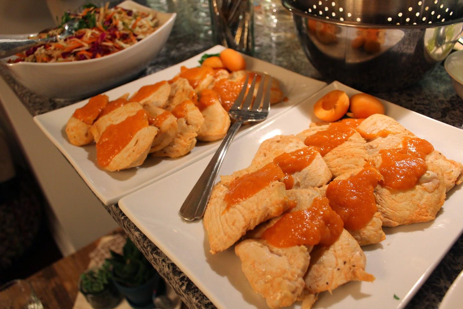 Sriracha-Apricot Baked Chicken