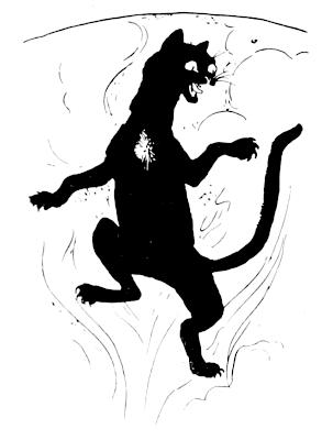 Gambar ilustrasi dari Cat Sìth