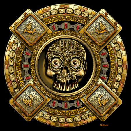 Sacred Symbols 3D: Mictlantecuhtli – Aztec God of Death