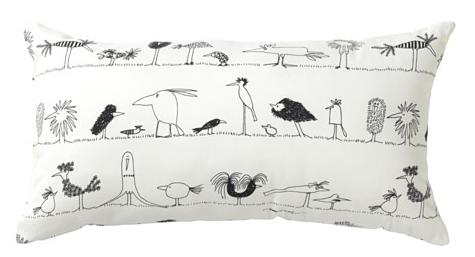 ÖNSKEDRÖM pillow, Ikea birds