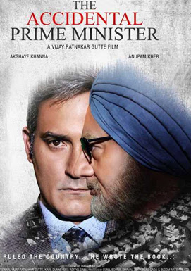 Poster Of Bollywood Movie The Accidental Prime Minister 2019 300MB Pdvd Full Hindi Movie