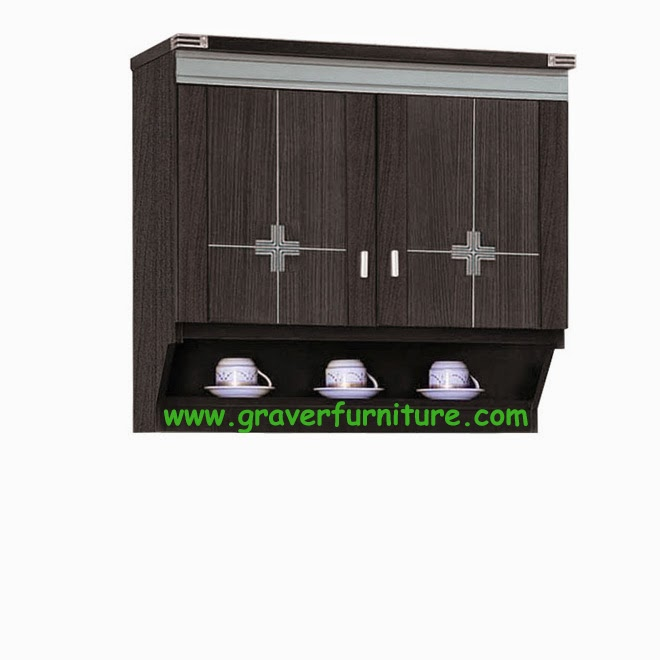 Kitchen Set Atas 2 Pintu KSA 2852 Graver Furniture