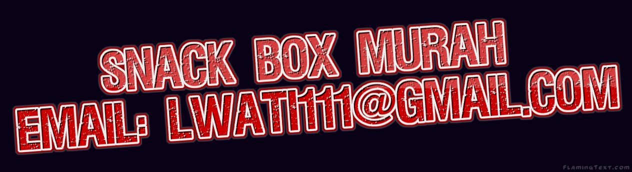 Pesan Snack Box, COD untuk area JAKARTA