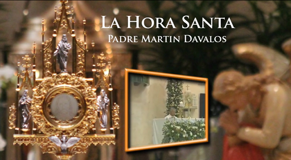 LA HORA SANTA PADRE MARTIN DAVALOS (clic en la foto)