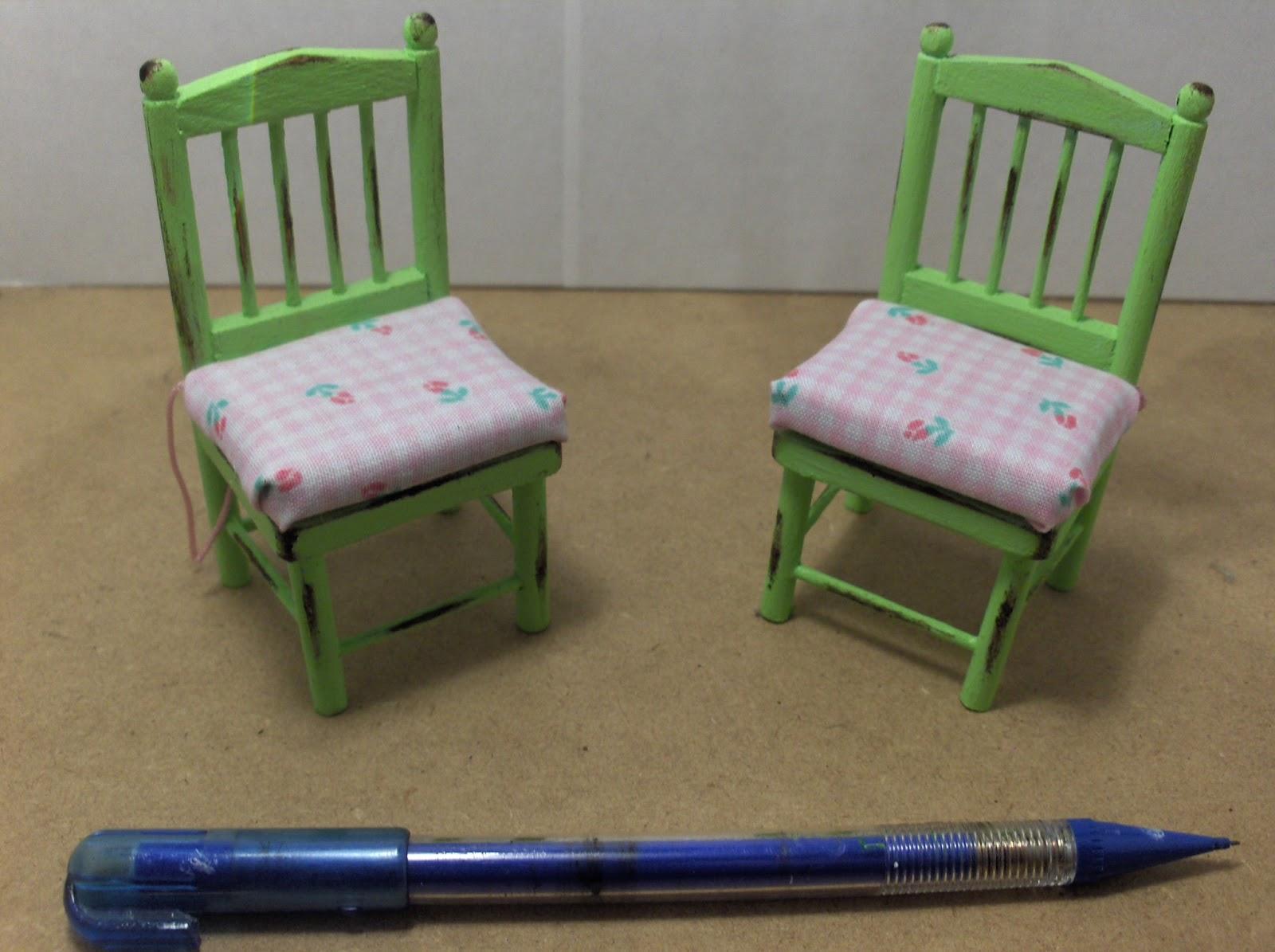 Mobilia casa shabby chic my miniatures for Mobilia 1