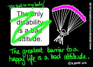 El mayor obstáculo para una vida feliz es una mala actitud.