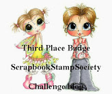 Scrapbook Stamp Society 3rd place