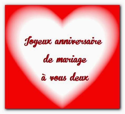 Poème bon anniversaire de mariage