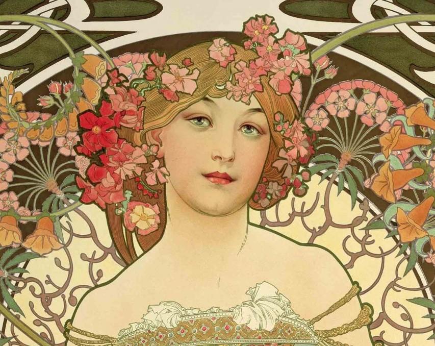 Art nouveau, Liberty e manifesto pubblicitario