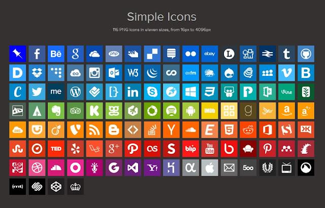100 iconos metro gratis