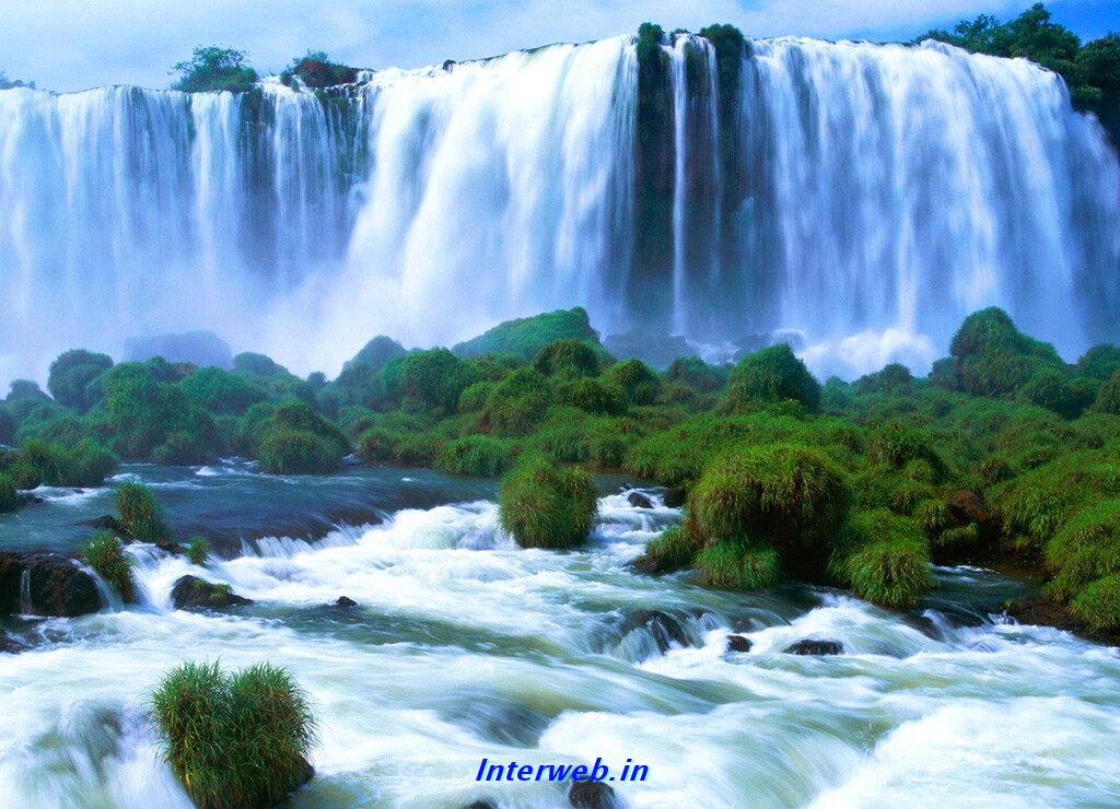 kinds of wallpapers natural waterfall wallpaper