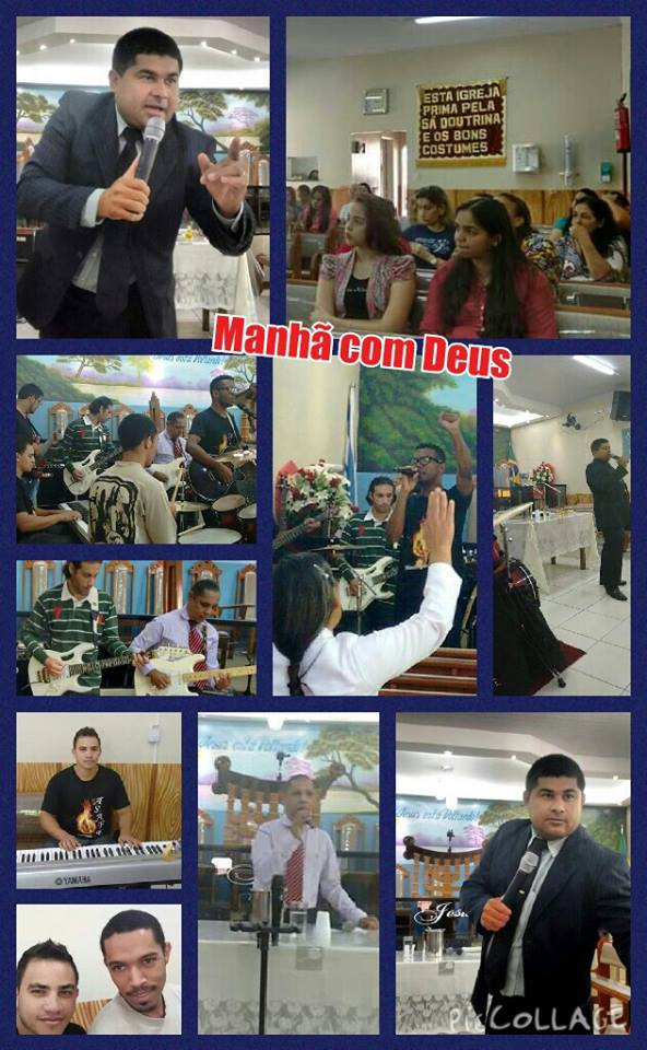 IGREJA ASSEMBLEIA DE DEUS MADUREIRA (CULTO MANHÃ COM DEUS) 04/06/15.