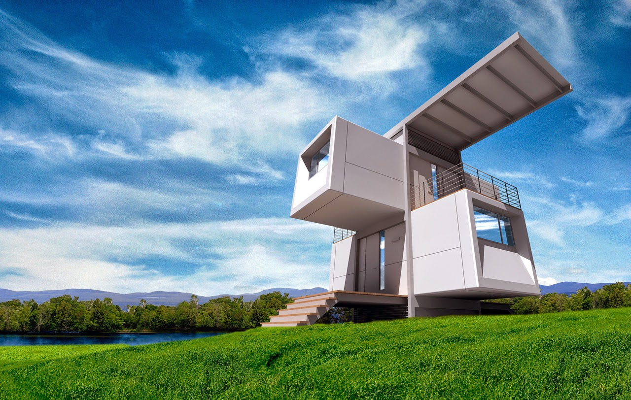 """small scale homes: """"zero house"""" a totally self sustaining house"""