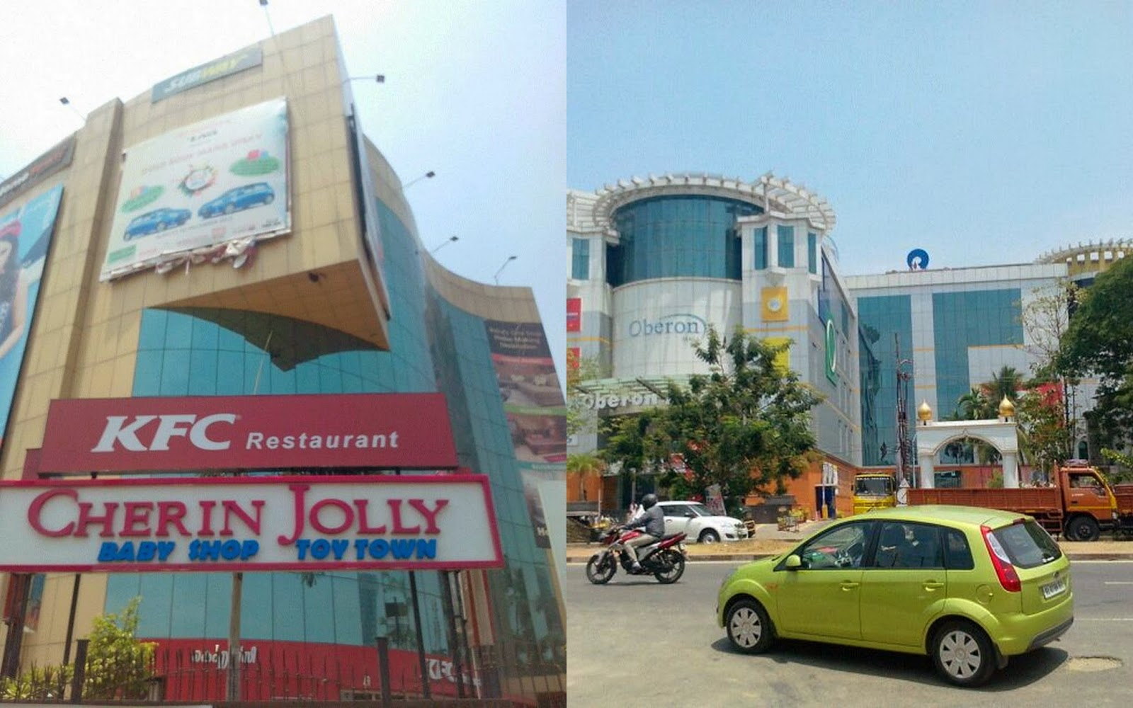 Car interior kochi - Malls In The City From Left Gold Souk Oberon While The Major Brands Like Kfc Big Bazaar Cinemax And Q Cinemas Have Stayed In The Malls