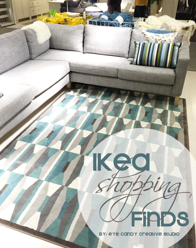 IKEA rugs, living room idea, grey couch, teal & grey area rug, pillows