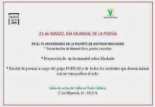 CELEBRAMOS LA POESÍA- Homenaje a Antonio Machado