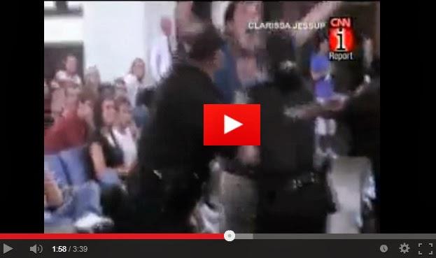 ΒΙΝΤΕΟ ΣΟΚ: Σύλληψη και επιτόπιο ηλεκτροσόκ σε φοιτητή επειδή έκανε λάθος ερώτηση στον ΥΠ.ΕΞ. των ΗΠΑ, Tζόν Kέρυ !!