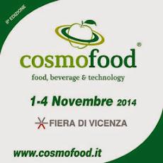 Collaboro con la Fiera Cosmofood di Vicenza