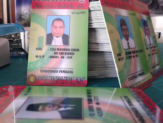 ID Card Jabatan Kehakiman Syariah Kuantan