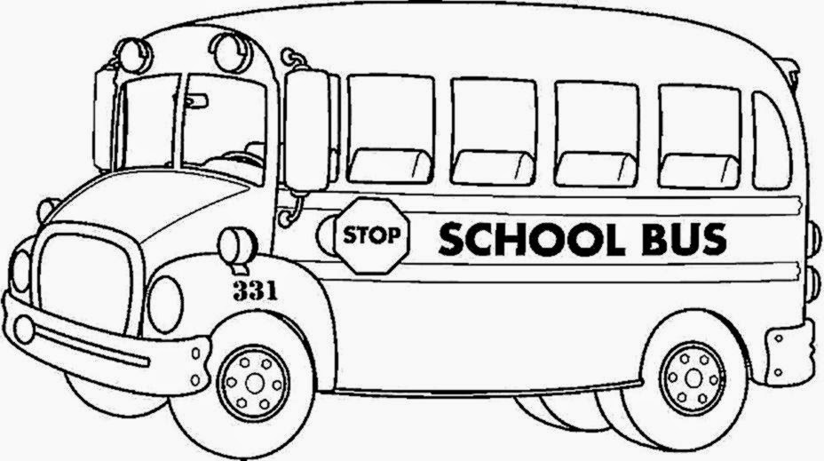 School Bus Coloring Pages For KidsColoring Kids