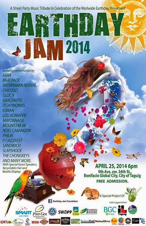 Let's Join Earth Day Jam 2014!