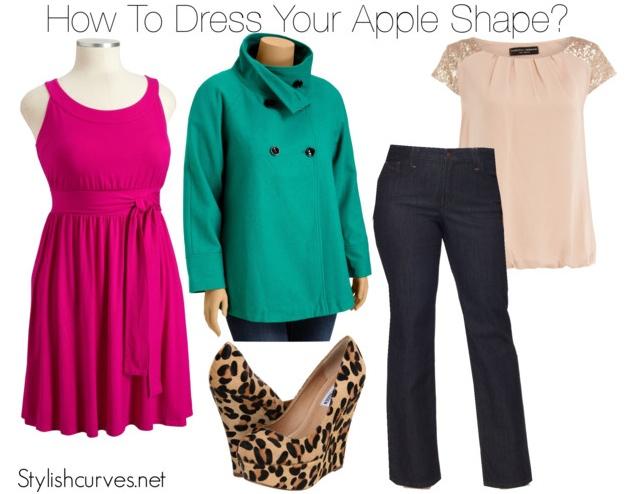 dress style apple shape shorts
