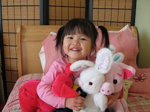 Rosalie 2 ans
