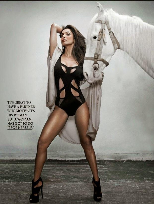 Malaika Arora Khan Sizzling Hot Scan For Maxim Magazine India October 2014
